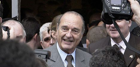 Chirac to go on trial for corruption