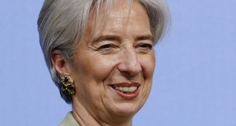 Support grows for Lagarde IMF bid