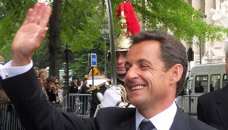 Ratings boost for 'more presidential' Sarkozy