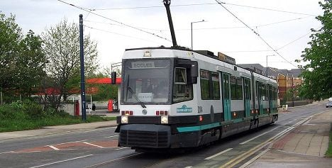 Manchester trams to get a French accent