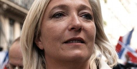 Le Pen: 'markets are mad with greed'