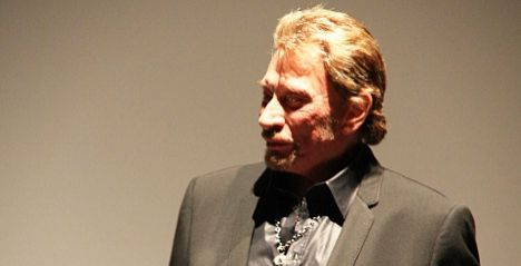 Johnny Hallyday to star in Paris play