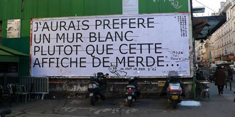 French farmer takes out ads – against advertising