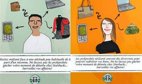 Starbucks withdraws controversial poster