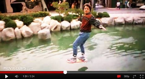 First 'hoverboard' unveiled in Paris
