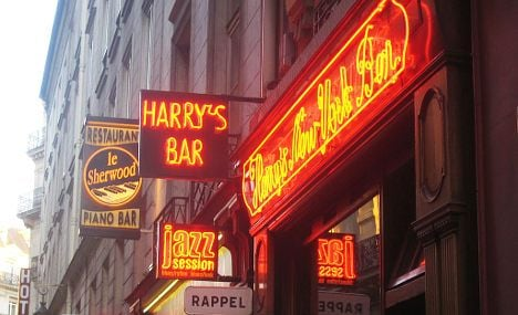 Legendary Harry's Bar marks 100 years of cocktails in Paris