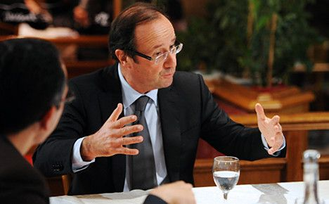 Hollande vows new spending and tax rises