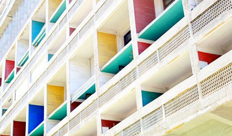 Le Corbusier housing project hit by major fire