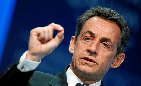 """Sarkozy says rival """"lies from morning to night"""""""
