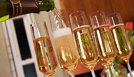 Champagne producer strikes gold