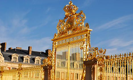 For a royal film shoot, book Versailles -- where else?
