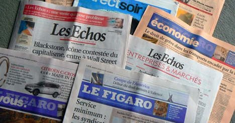 Papers argue over Hollande and Sarkozy's economic policies as election nears