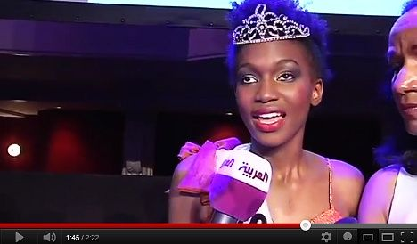 First Miss Black France causes controversy