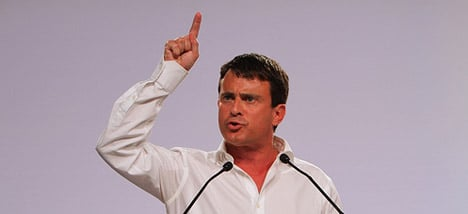 Valls: These protests are forbidden