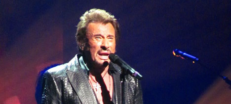 Johnny Hallyday hits New York after 50 years away