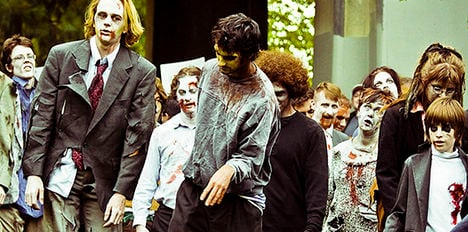 Halloween zombies banned over Catholic clash