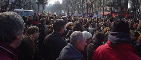 Thousands of French march against EU austerity