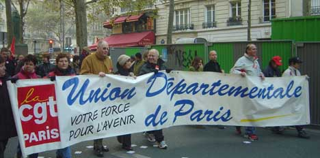 Marches across France demand job security