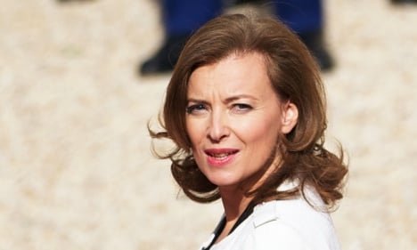 Trierweiler: I like being first lady