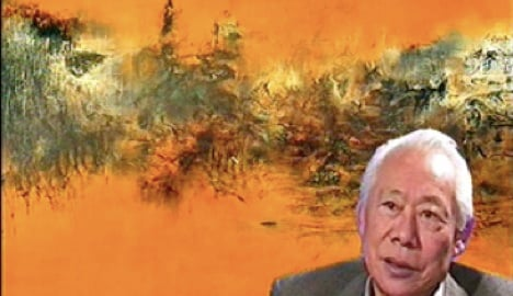 Franco-Swiss feud splits Chinese painter's family