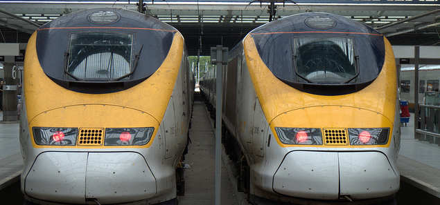 Eurostar and Thalys trains stranded by faults