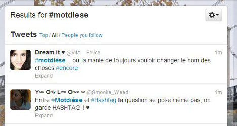 France bins Twitter's 'hashtag' for Gallic word