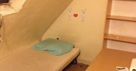 Mother and baby evicted from 4m² Paris flat
