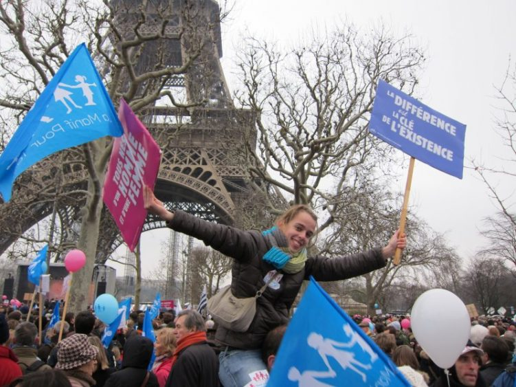 In Pictures: France's anti-gay marriage protests
