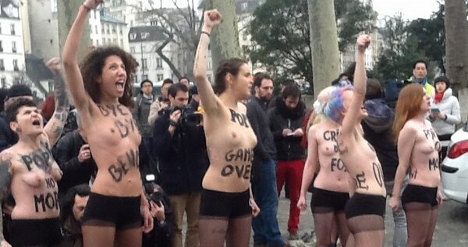 Notre Dame sues naked feminists for desecration
