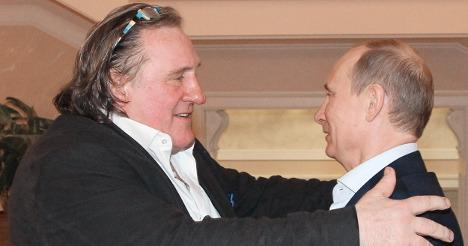 Depardieu moves into Russian town