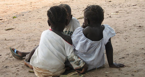 French couple 'pay €4,500 for African slave girl'