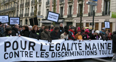 French parliament set to pass gay marriage law