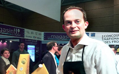The Brit crowned top cheesemonger in France
