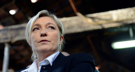 One-third of French agree with Le Pen's ideas