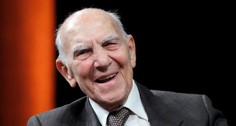 Writer and Resistance fighter Hessel dies at 95