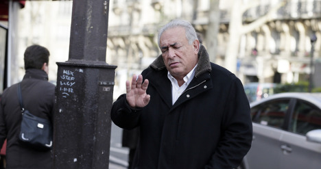 DSK in court as he bids to ban kiss and tell book
