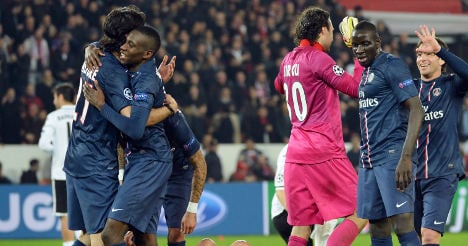 PSG to play Barcelona in Champions League