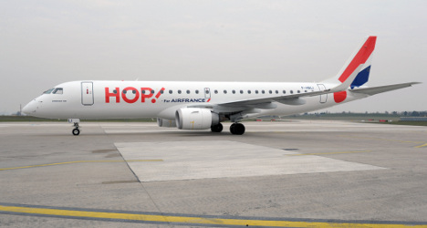 Air France's low-cost Hop! set for take-off