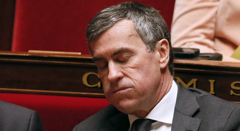French budget minister resigns amid tax probe