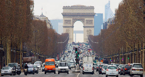 Paris shopping district is city's most polluted spot