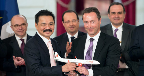 Record Airbus deal lands France '5,000 jobs'
