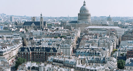 House prices in Paris on their way down