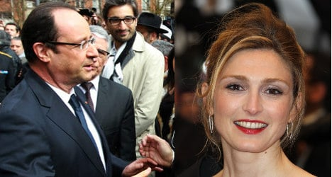 French actress sues over Hollande mistress claims