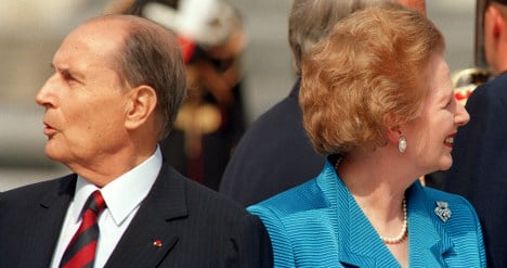 France offers tributes and slurs to Thatcher