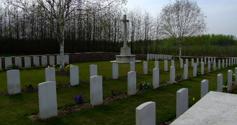 British WWI soldiers to be buried 95 years later