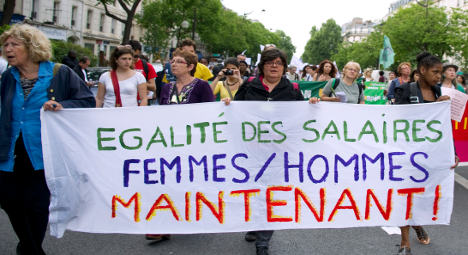 First French firms fined over unequal pay