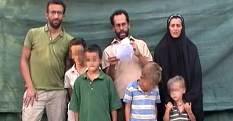 French family kidnapped in Cameroon set free