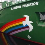 """The Rainbow Warrior: What to do when your nuclear tests are blocked by pesky environmental activists on a ship? The French government opted to blow up the boat. On July 10th 1985, French secret service agents sank the Rainbow Warrior, owned by Greenpeace, off the coast of New Zealand, drowning a  photographer. At first the government denied responsibility for 'Operation Satanique', but later that year, then Prime Minister Laurent Fabius admitted the plot, saying """"The truth is cruel."""" Indeed.Photo: flickr/l2f1"""
