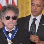 Bob Dylan not fit for French award: Le Pen