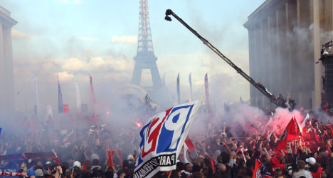 PSG's title celebrations turn ugly as fans riot